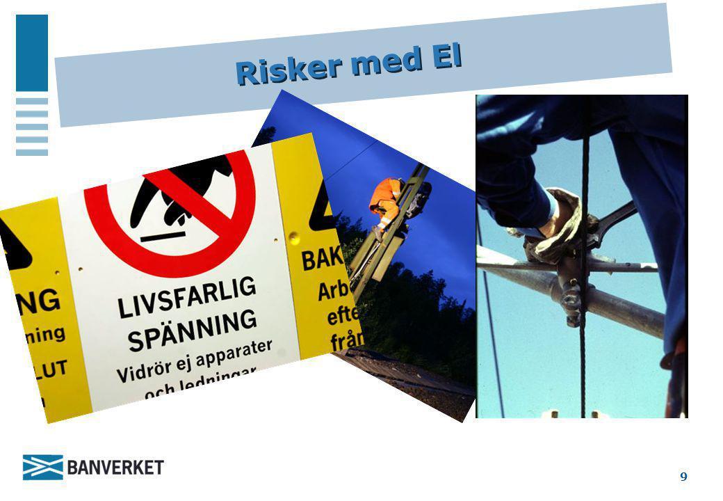 Risker med El 9