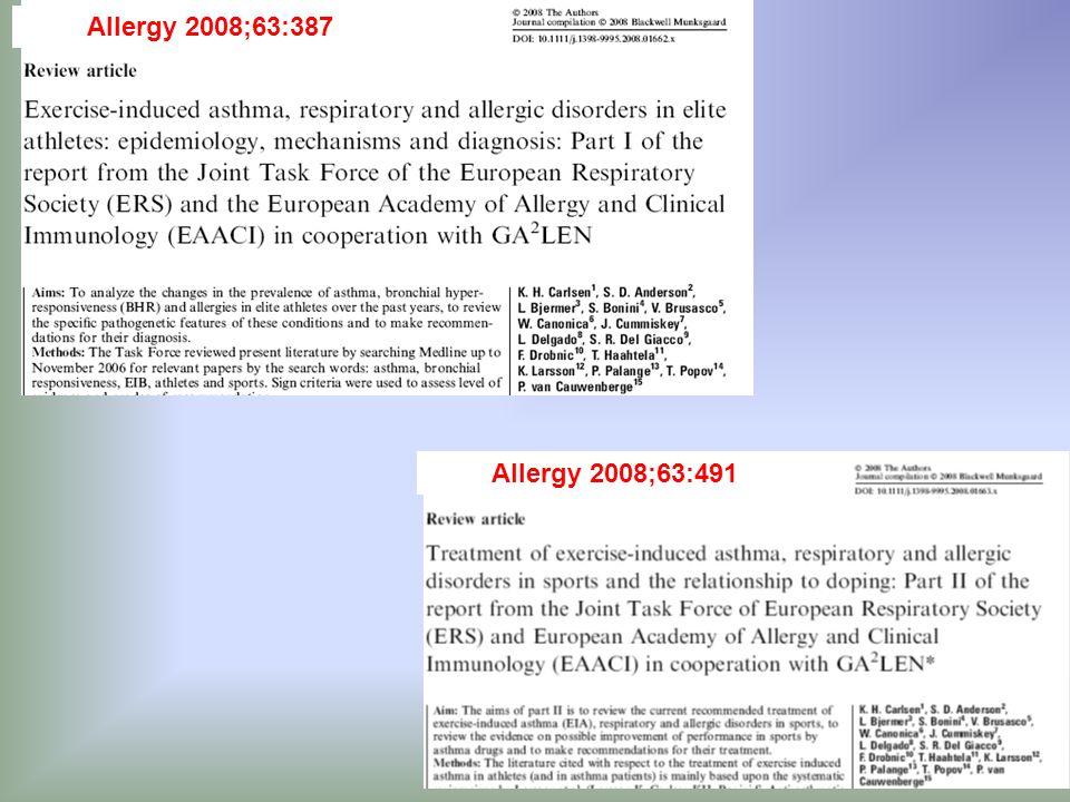 Allergy 2008;63:387 Allergy 2008;63:491