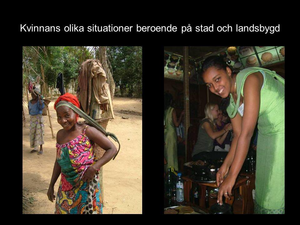 Se till landsbygdens kvinnor.