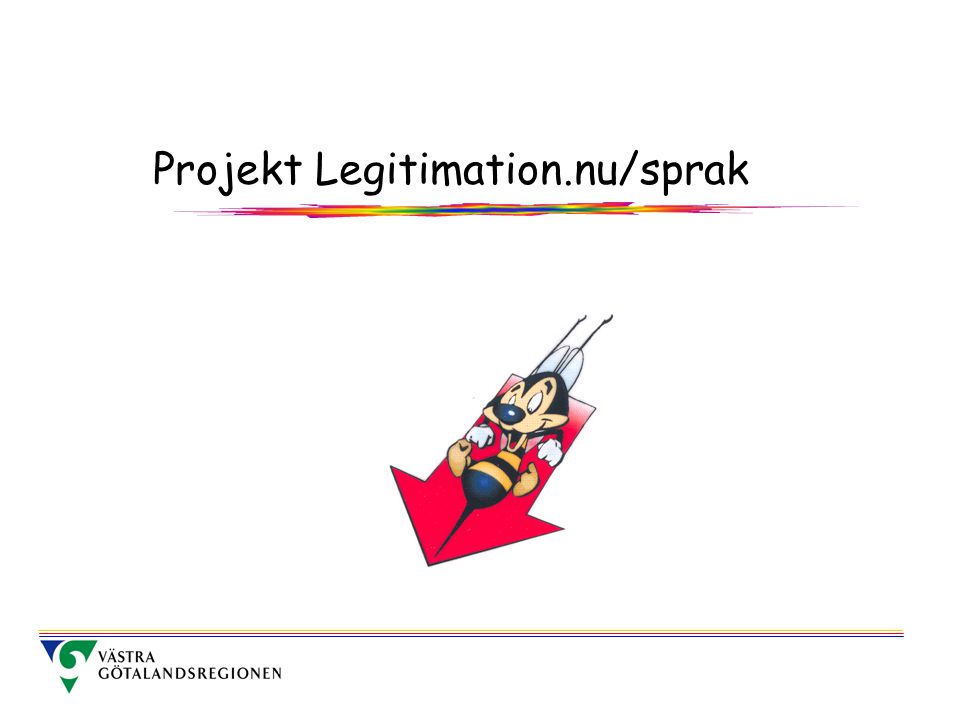 Projekt Legitimation.nu/sprak