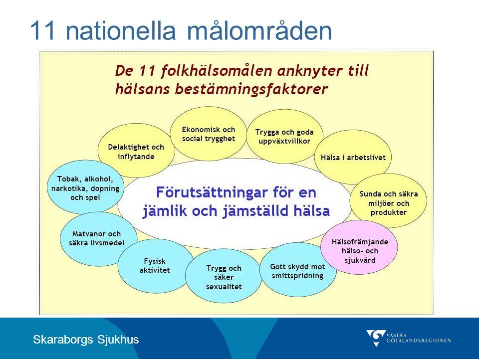 Skaraborgs Sjukhus 11 nationella målområden