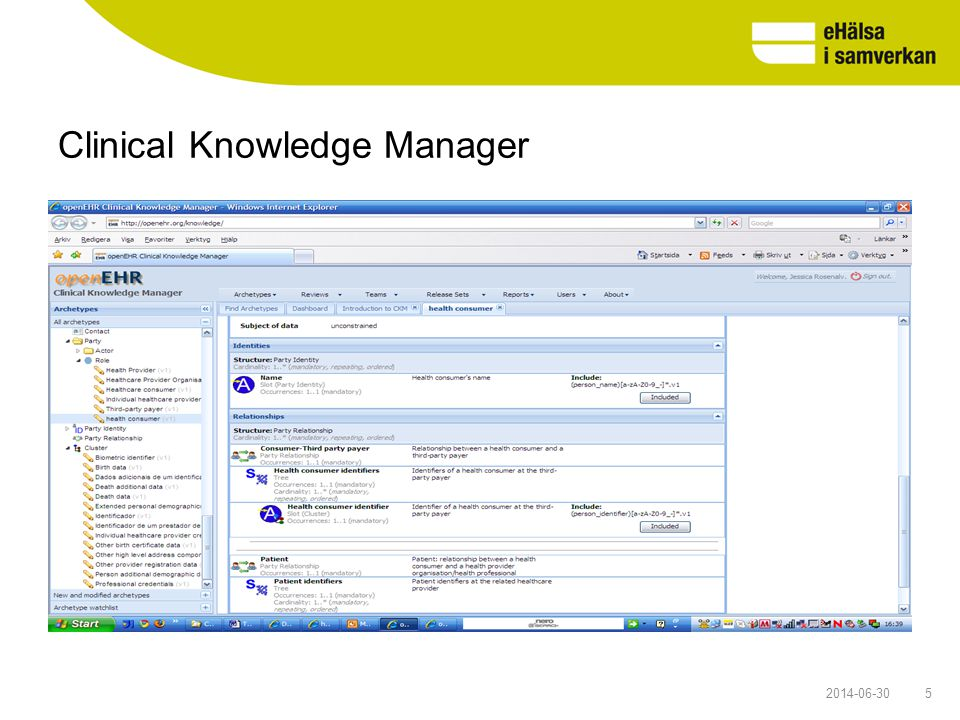 Clinical Knowledge Manager 52014-06-30