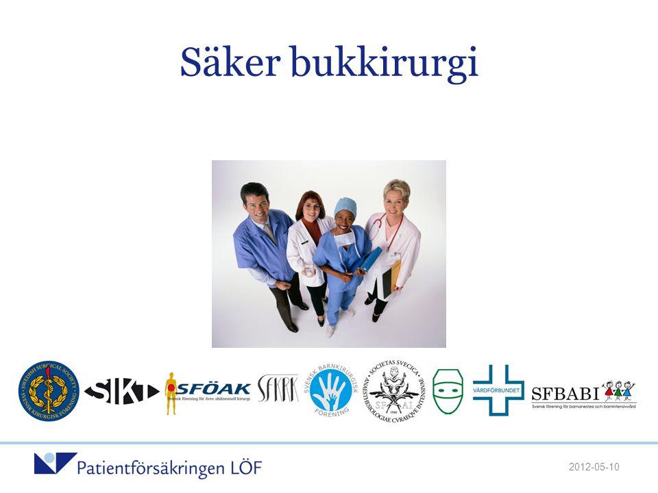 Patientförsäkringen LÖF •PSR AB tidigare helägt dotterbolag till Landstingens Ömsesidiga Försäkringsbolag.