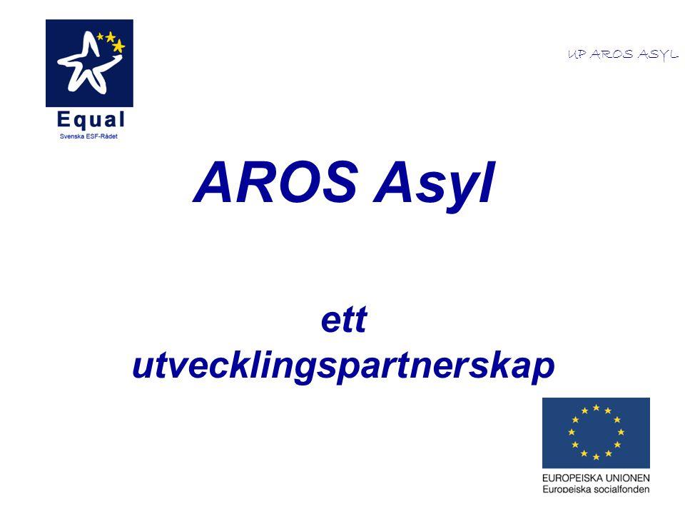 AROS Asyl ett utvecklingspartnerskap UP AROS ASYL