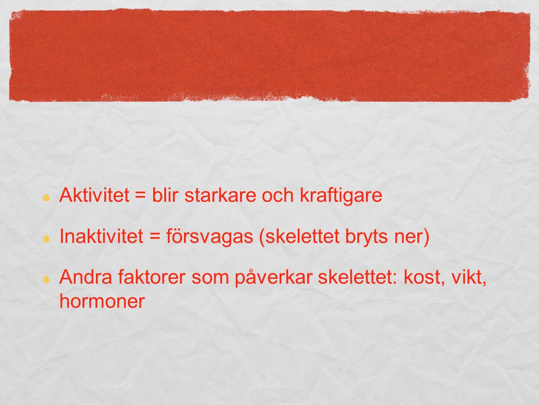 talevska.wordpress.com dokument - IDH1201/1202 Plocka fram Instuderingsfrågor + Kroppen