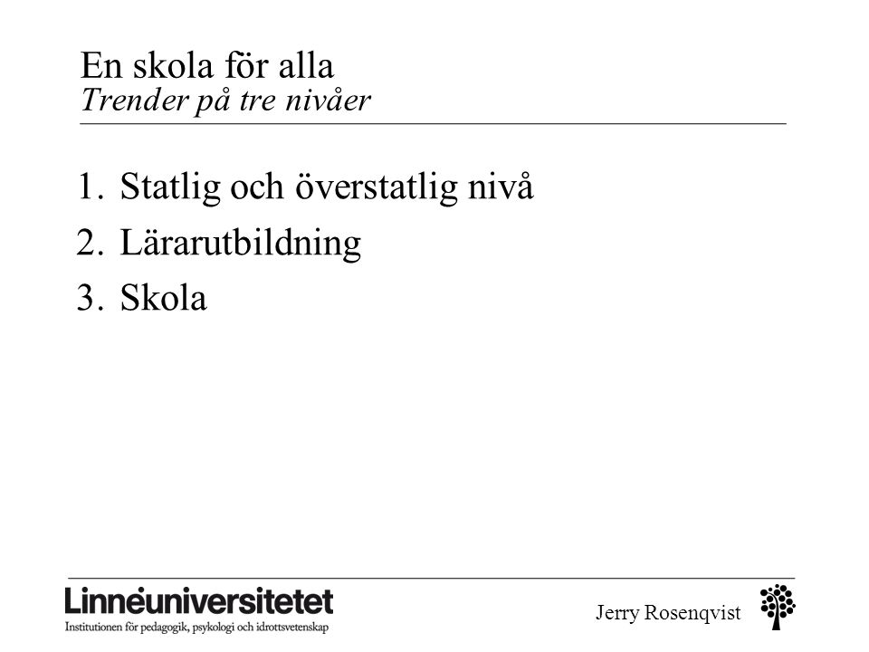 Jerry Rosenqvist 1.