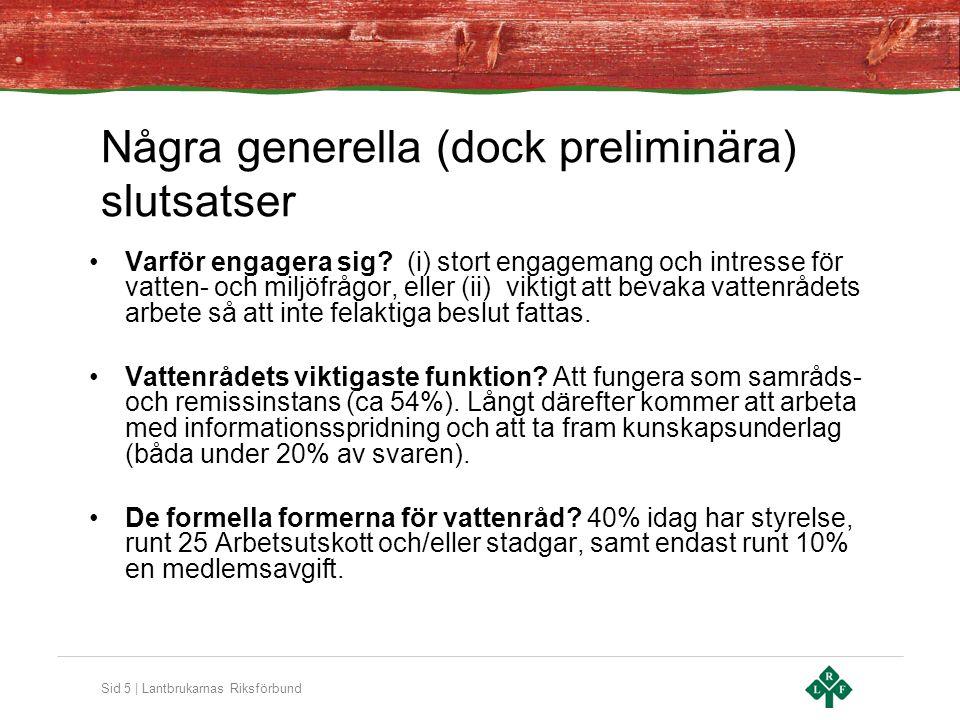 Sid 5 | Lantbrukarnas Riksförbund •Varför engagera sig.