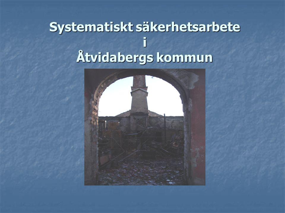 Systematiskt säkerhetsarbete i Åtvidabergs kommun