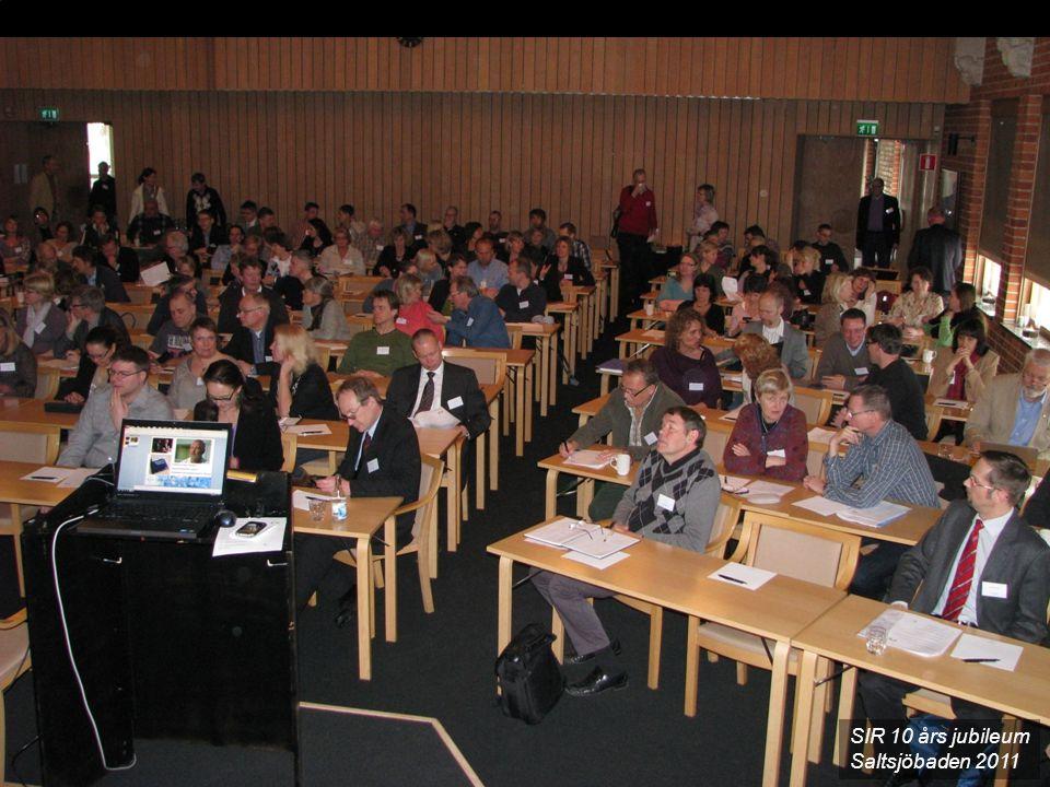 SIR 10 års jubileum Saltsjöbaden 2011