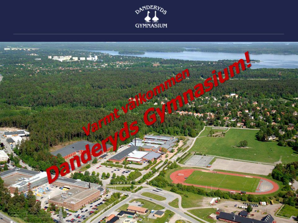 Varmt välkommen Danderyds Gymnasium!