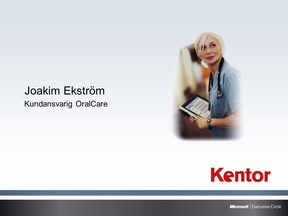 Joakim Ekström Kundansvarig OralCare