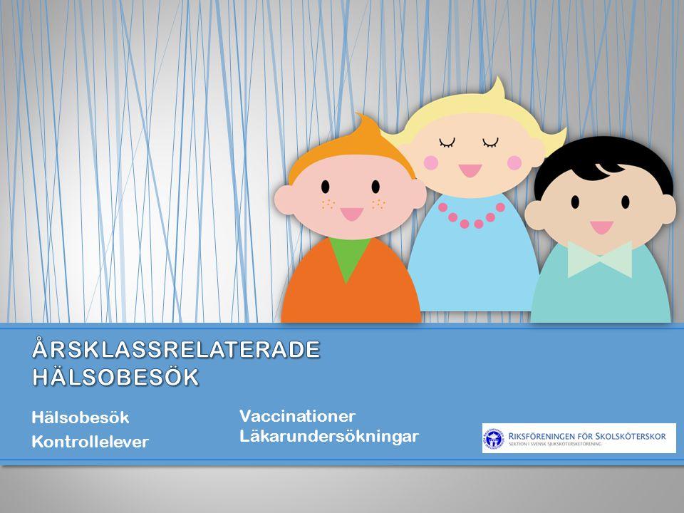 Hälsobesök Kontrollelever Vaccinationer Läkarundersökningar