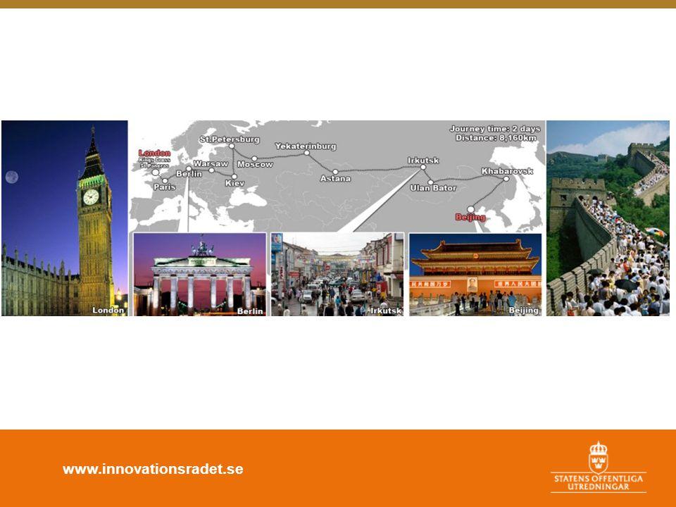 www.innovationsradet.se 2.Arbeta öppet med andra •Vilka samverkanspartners har man.