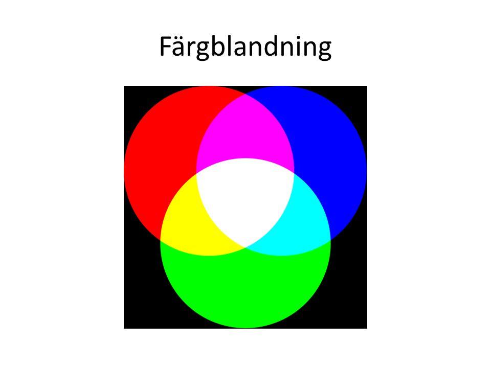 Färgblandning