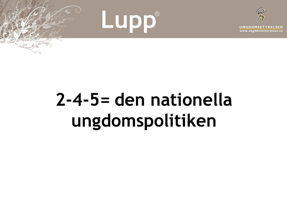 Vad är Lupp.•Enkätverktyg. Sedan 2001.
