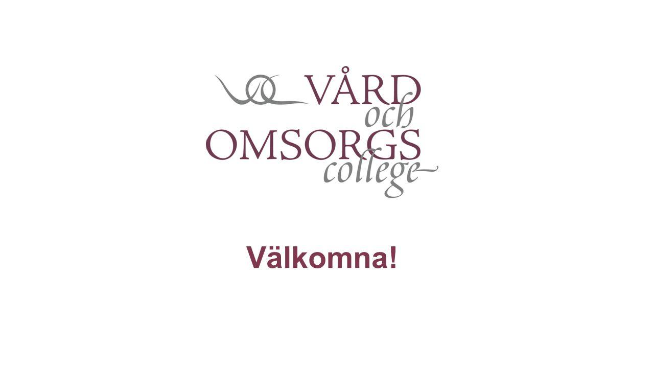 Vård- och omsorgscollege 17 Regionala college 70 Lokala college 145 Kommuner 19 regionala college representerade idag