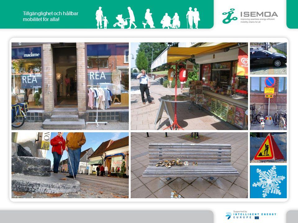 Tillgänglighet och hållbar mobilitet för alla!