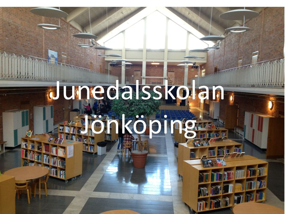 Junedalsskolans - bibliotek 20062013