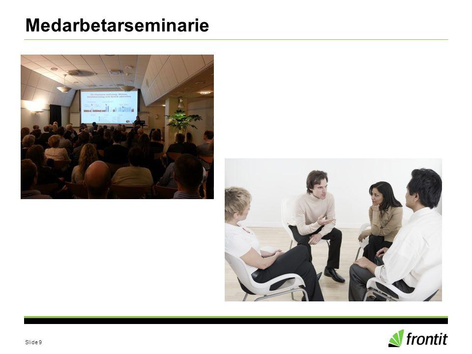 Slide 9 Medarbetarseminarie