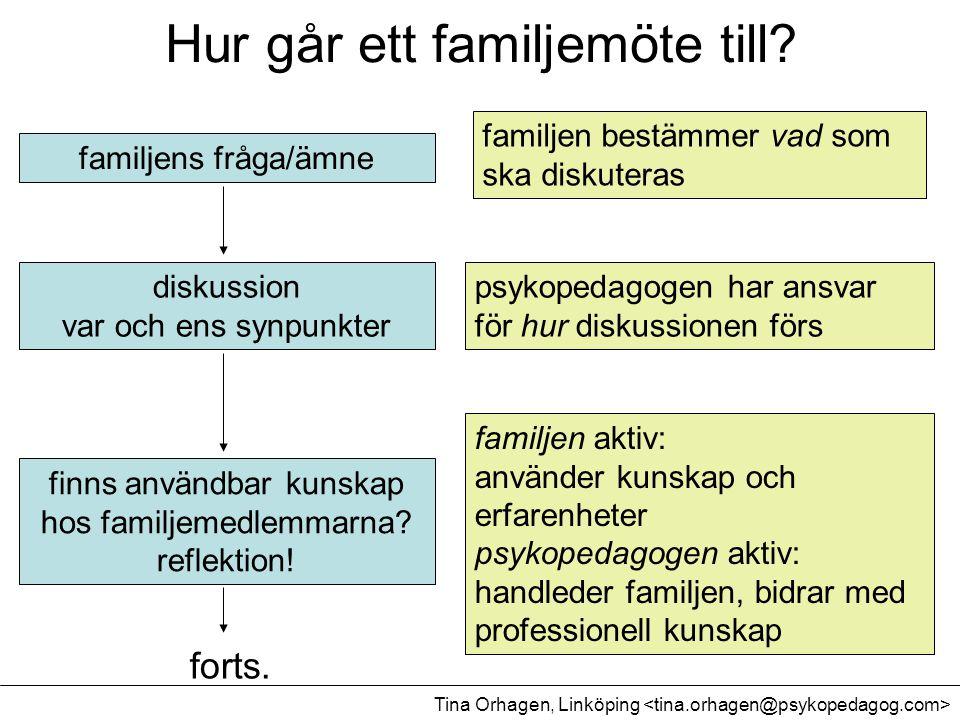 familjens fråga/ämne diskussion var och ens synpunkter finns användbar kunskap hos familjemedlemmarna? reflektion! familjen bestämmer vad som ska disk