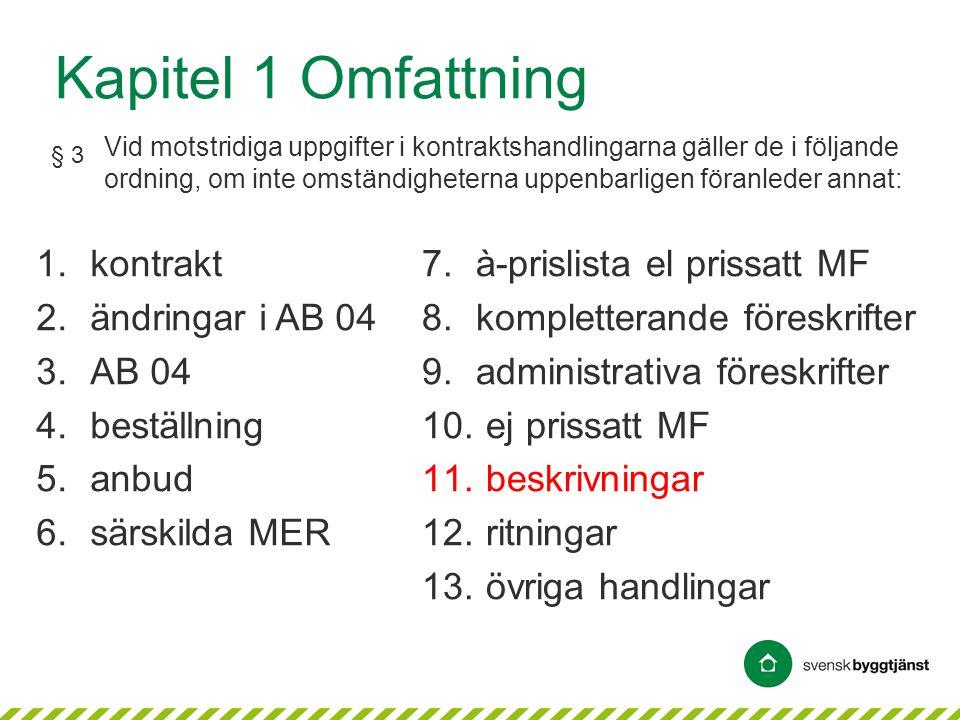 © AB Svensk Byggtjänst Samordning med övriga AMA • Beskrivningsarbete kan behöva samordnas med hjälp av olika AMA-delar • Rubriker med tillhörande texter –specifika för respektive AMA- och RA-del • AMA- och RA-delarna kompletterar varandra * framför RA kod innebär att text finns i AMA