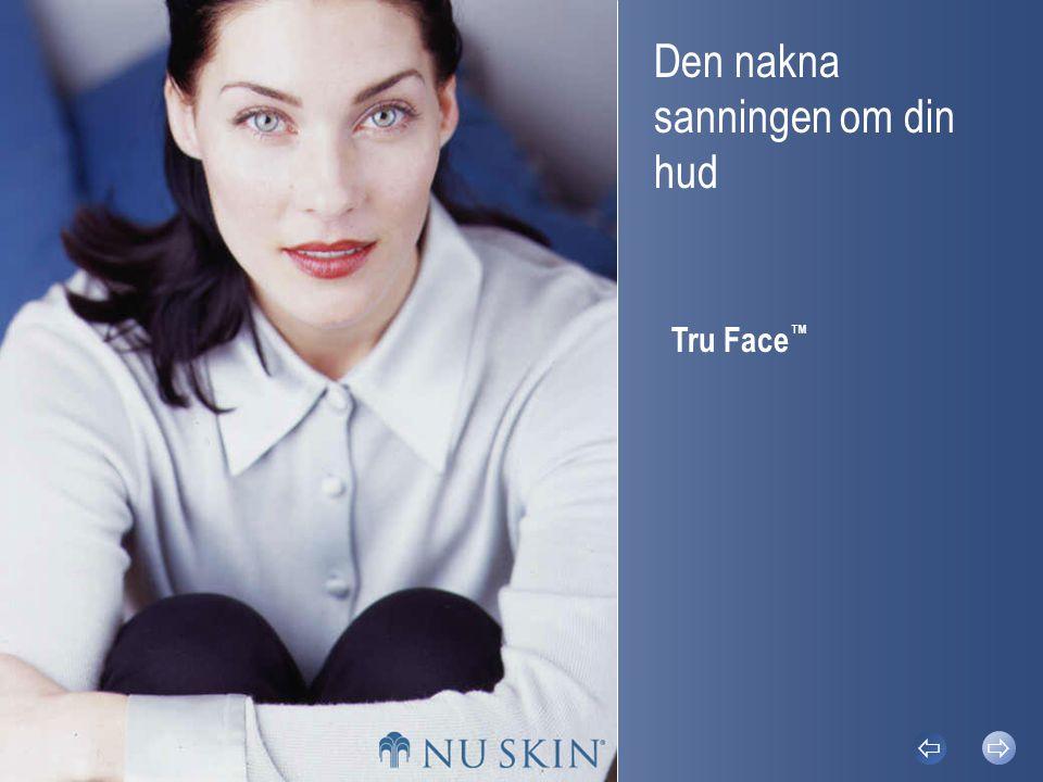 Den nakna sanningen om din hud Tru Face ™  