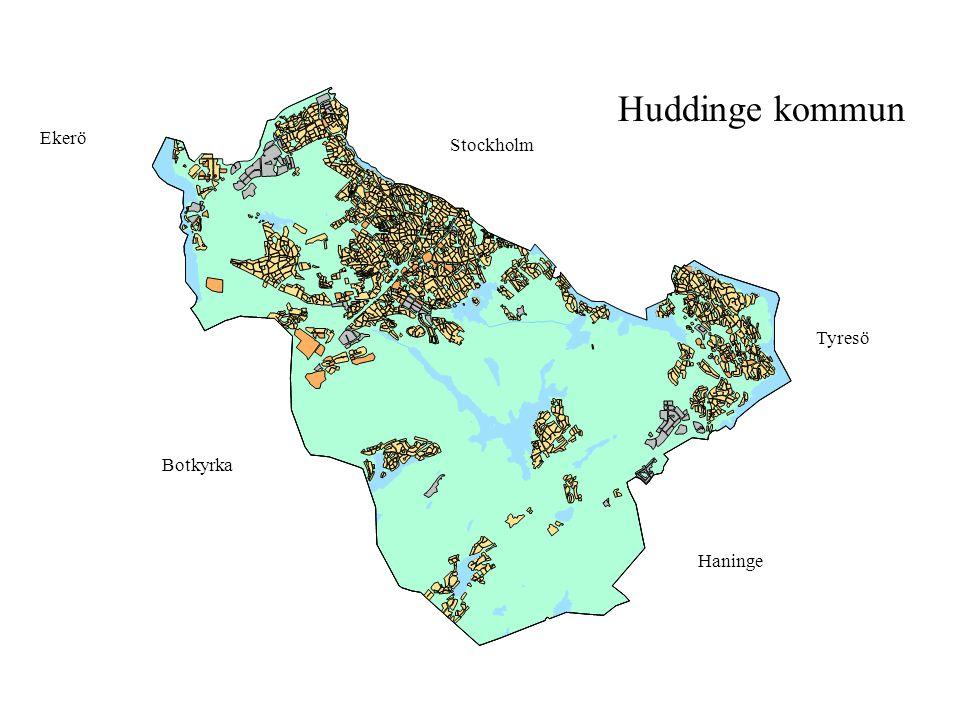 Huddinge kommun Haninge Botkyrka Stockholm Tyresö Ekerö