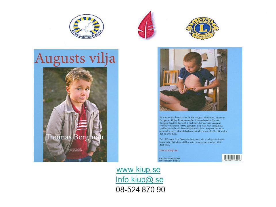www.kiup.se Info.kiup@.se 08-524 870 90