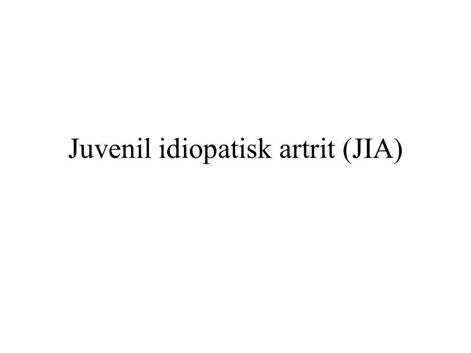 Juvenil idiopatisk artrit (JIA)