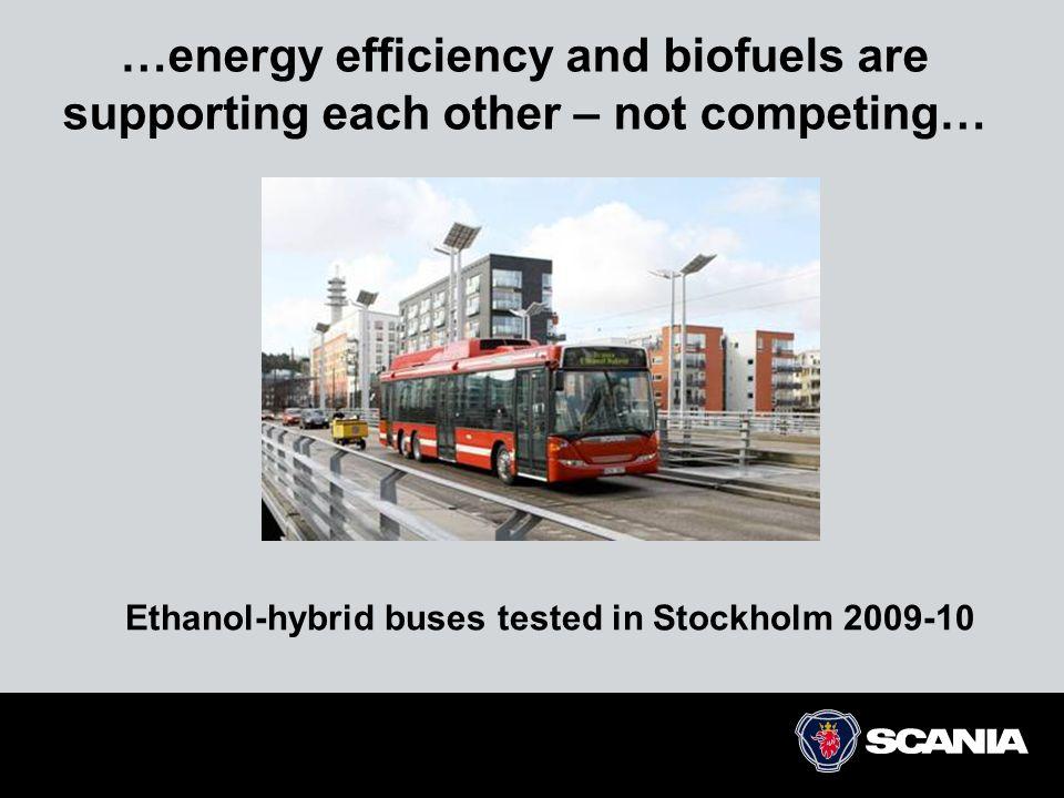 50 45 40 35 30 25 20 1950 1960 1970198019902000 2010 litres/100 km 12345 Euro '92'96'01'06'09 2020 0 Ökad energieffektivitet Marknadsdrivet - oavsett kravställning eller bränsletyp  Bränsle är en stor del av operativa kostnaden.