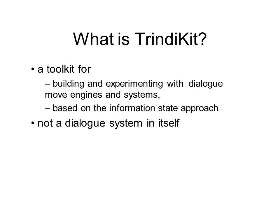 TrindiKit