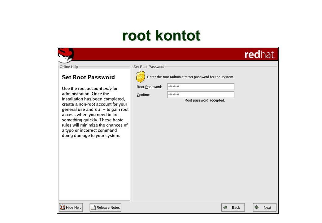 root kontot