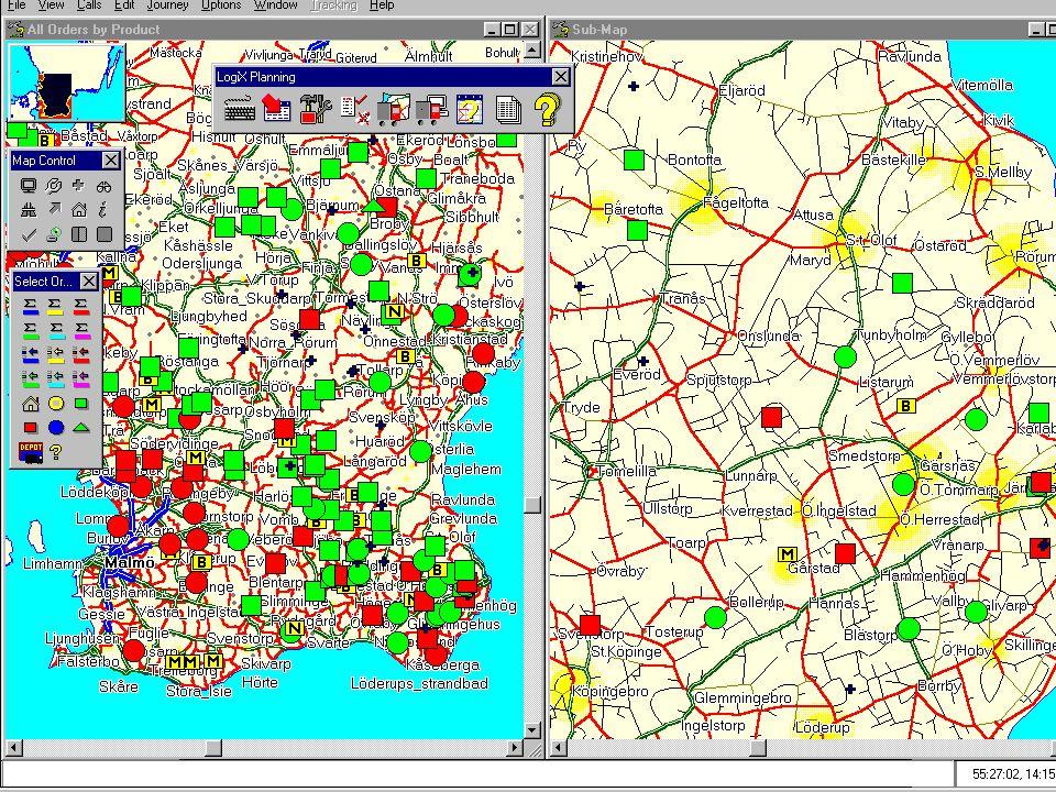 LIAB WinLogiX - karta + detaljkarta