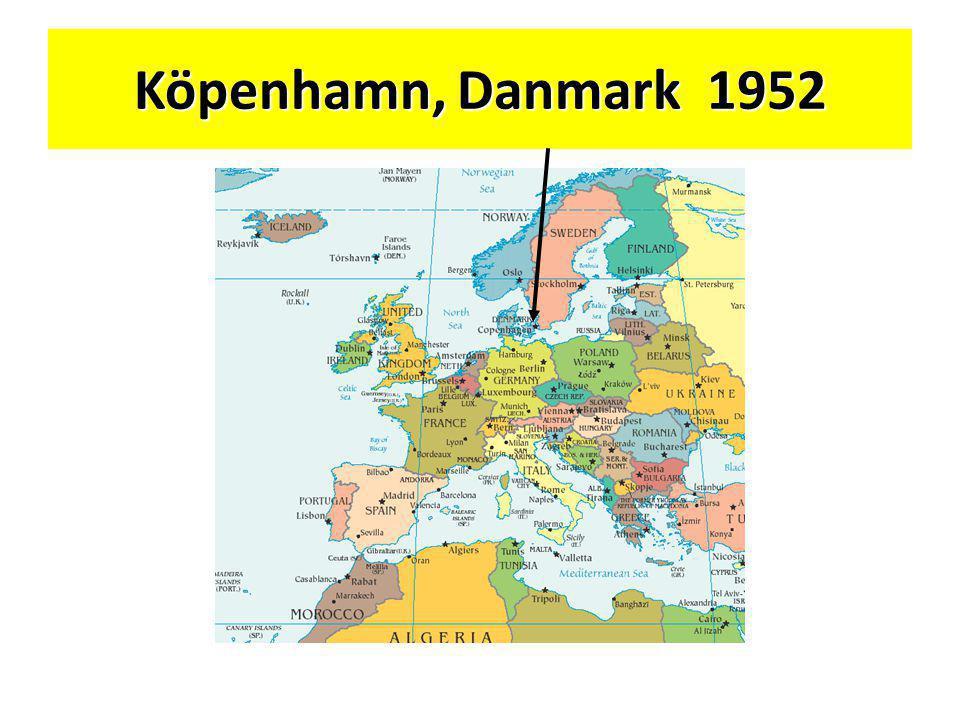 Köpenhamn, Danmark1952 Köpenhamn, Danmark 1952