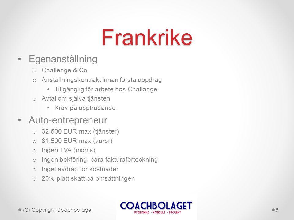 Tack! www.coachbolaget.se par.gester@coachbolaget.se (C) Copyright Coachbolaget9