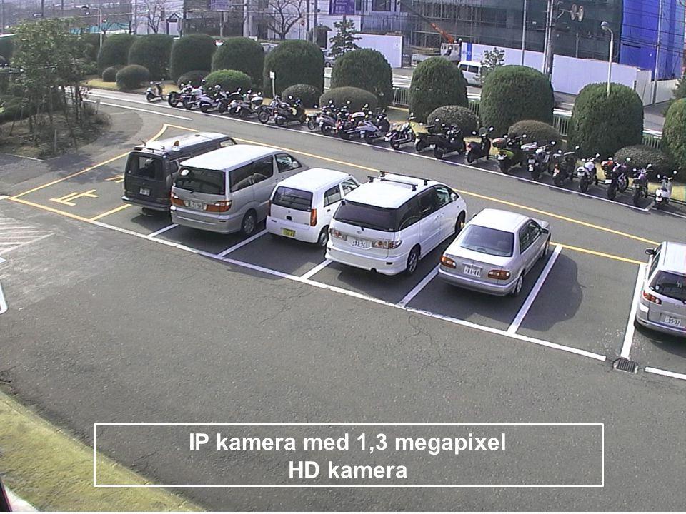 IP kamera med 1,3 megapixel HD kamera