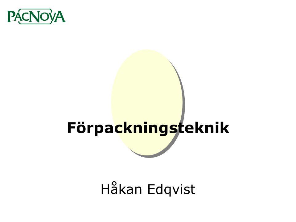 Förpackningsteknik •Förpackningens funktioner •Förpackning och miljö •Lagar och konsumentkrav •Förpackningsmaterial •Tryckmetoder och maskiner