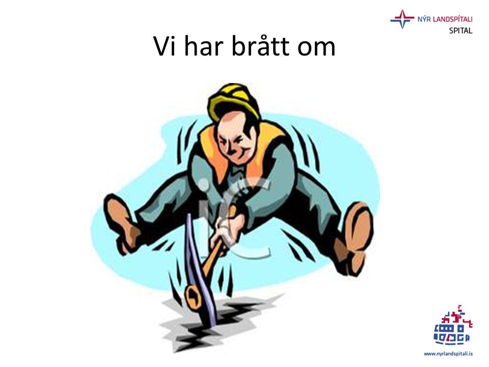 Landspitali byggproject 2010 -2018 • Universitetsjukhus för Island, 320.000 • Lokal sjukhus för Reykjavik området, 220.000(2012) • 128.000 m² (75.000 nybygge + 53.000 äldre byggnader) • Tomt: 140.000 sq.m • Vårdplatser: 600 + 80 beds I patient hotel • Staff : 3.650 heltid / 4.500 total (2011) • Ambulant patienter: 450.000 /år (2011) • Vårddagar: 203.000/år (2011) • Driftskostnad pr.