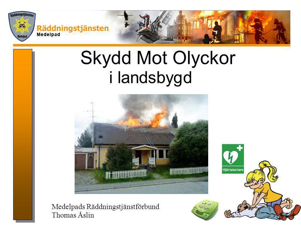Projektdirektivet •Utveckla ett koncept för skydd mot olyckor i landsbygd.