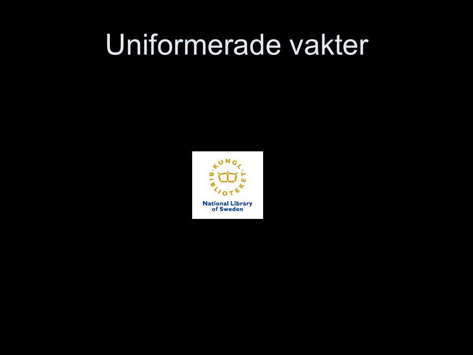 Uniformerade vakter