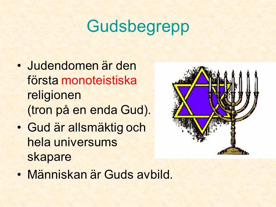 Judisk tideräkning •Dygnet räknas från solnedgången •Därför börjar och slutar sabbaten och alla helger vid solnedgången.