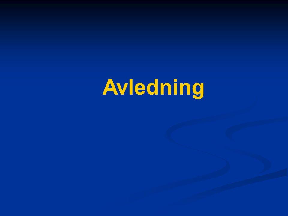 Avledning