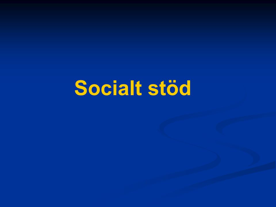 Socialt stöd