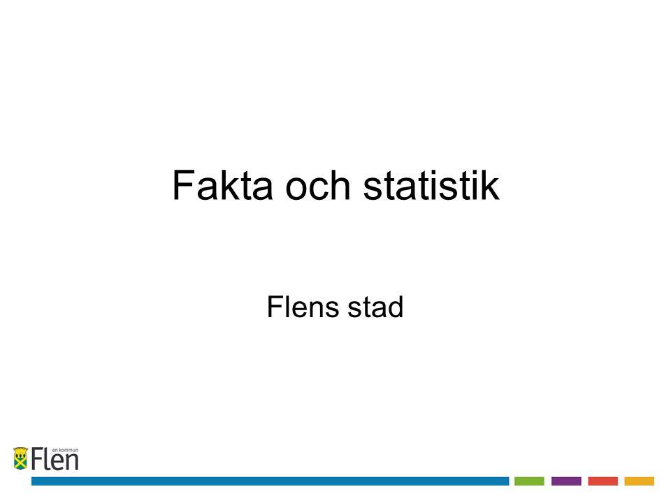 Fakta och statistik Flens stad