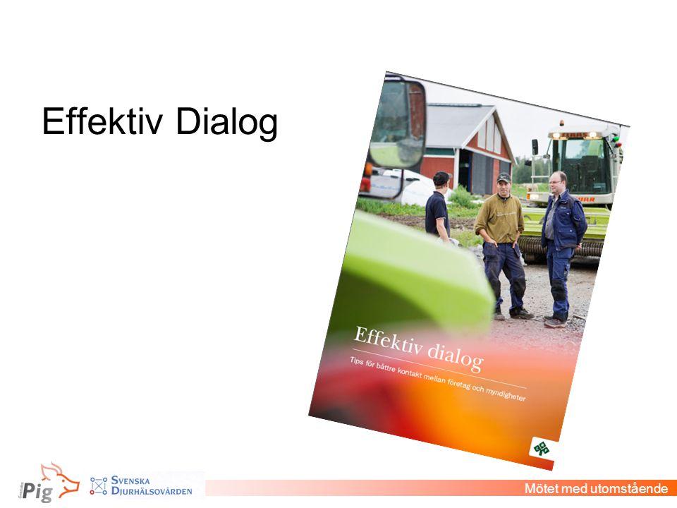 Effektiv Dialog Mötet med utomstående