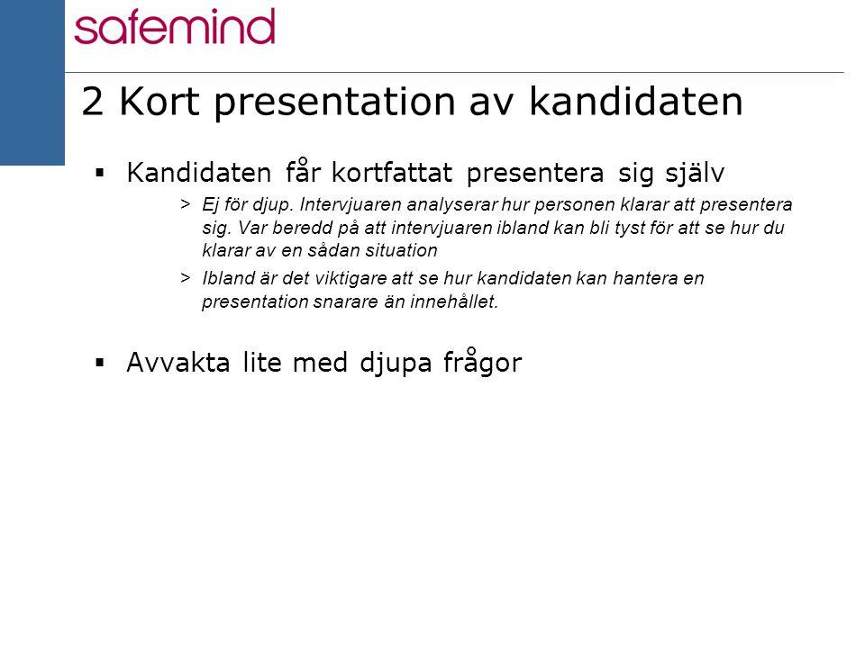 dejting presentation exempel