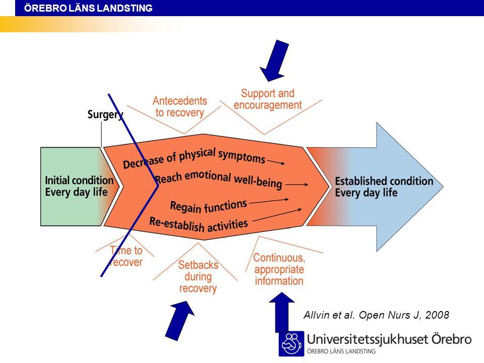 ÖREBRO LÄNS LANDSTING Allvin et al. Open Nurs J, 2008