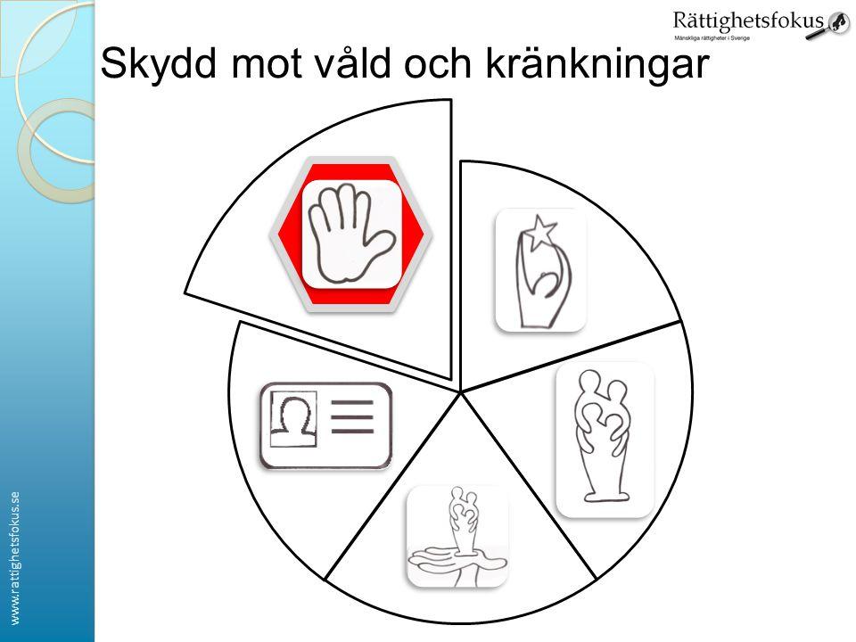 www.rattighetsfokus.se Skydd mot våld och kränkningar