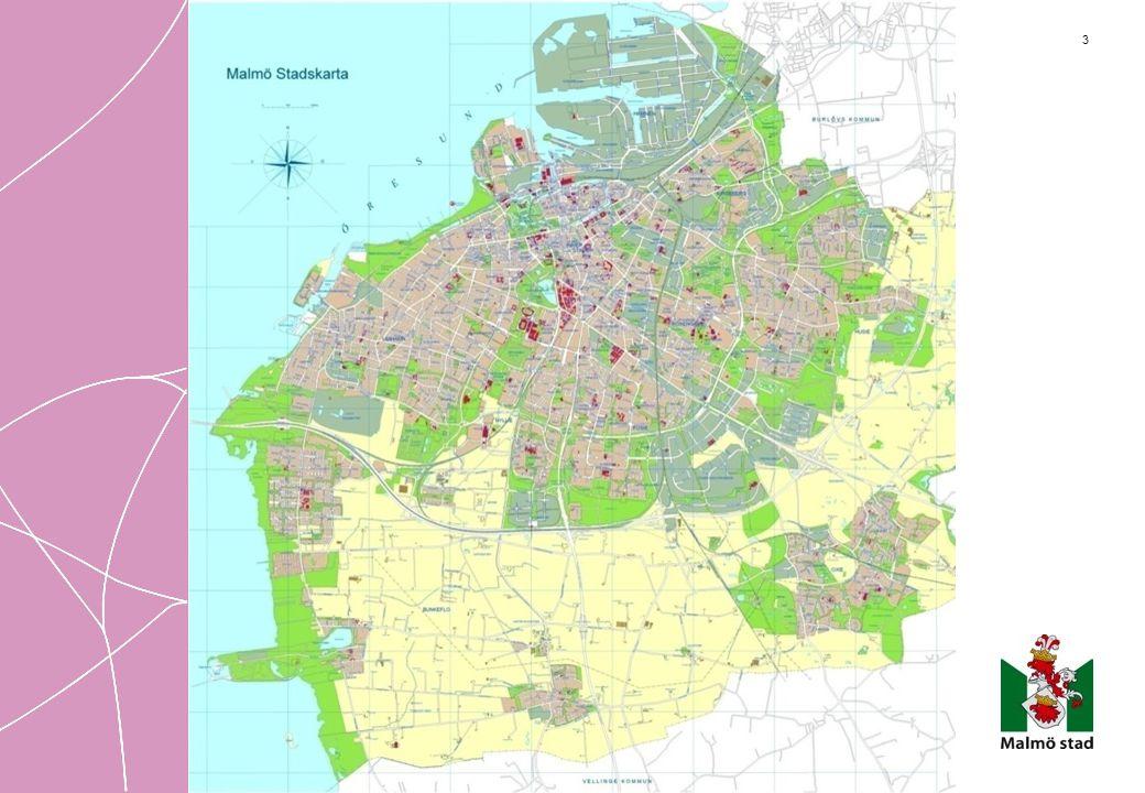 44 Malmö stads medel Kommunens intäkter under 2010 uppgick till 16 miljarder kronor Generella statsbidrag 24% Finans 1% Skatter 57% Verksamheter 18%