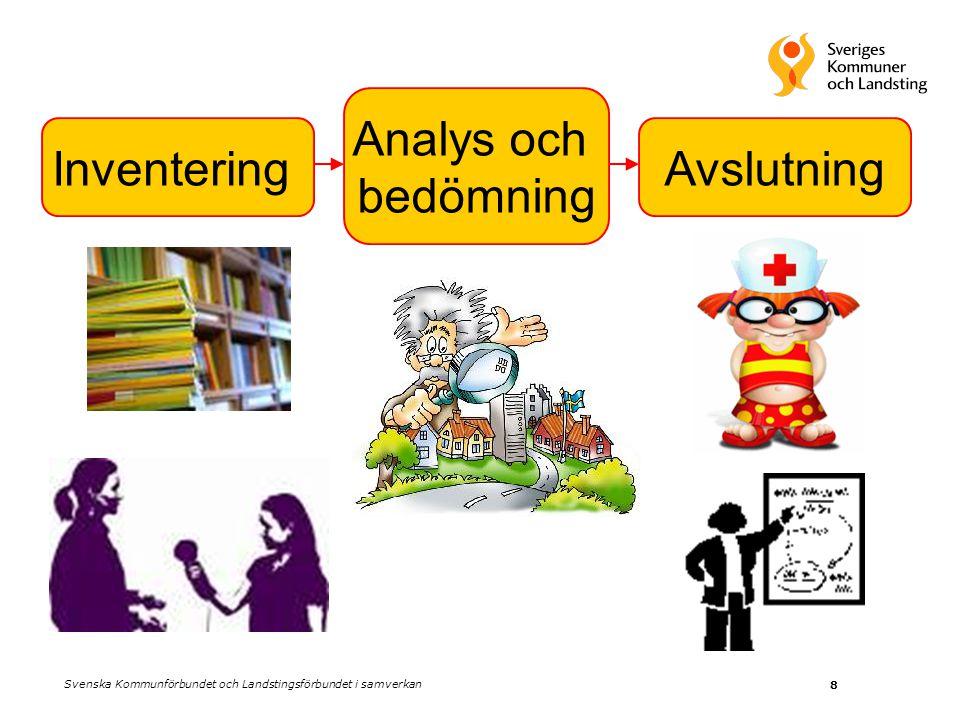 8 Analys och bedömning AvslutningInventering Svenska Kommunförbundet och Landstingsförbundet i samverkan